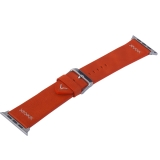 Ремешок кожаный COTEetCI W33 Fashion LEATHER классическая пряжка (WH5257-RD-42) для Apple Watch 44 мм Красный