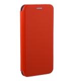 Чехол-книжка кожаный Fashion Case Slim-Fit для Samsung Galaxy A30s Красный