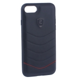 Накладка PULOKA для iPhone 7 PC+TPU волны Черная