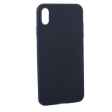 Чехол силиконовый Hoco Fascination Series для iPhone XS Max (6.5) Черный
