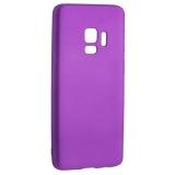 Чехол-накладка TPU Soft touch металлик Deppa Case Silk D-89006 для Samsung GALAXY S9 SM-G960F 1мм Фиолетовый металик