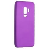 Чехол-накладка TPU Soft touch металлик Deppa Case Silk D-89007 для Samsung GALAXY S9+ SM-G965F 1мм Фиолетовый металик