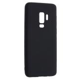 Чехол-накладка TPU Soft touch металлик Deppa Case Silk D-89001 для Samsung GALAXY S9+ SM-G965F 1мм Черный металик