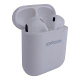 Bluetooth-гарнитура Joyroom Wireless Earbuds стерео с зарядным устройством и с чехлом в комплекте (JR-T03) Белый