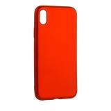 Чехол-накладка Deppa Case Silk TPU Soft touch D-89045 для iPhone XR (6.1) 1мм Красный металик