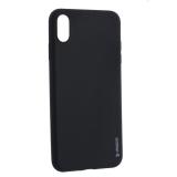 Чехол-накладка силикон Deppa Gel Color Case TPU D-85355 для iPhone XS Max (6.5) 0.8мм Черный