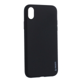 Чехол-накладка силикон Deppa Gel Color Case TPU D-85363 для iPhone XR 0.8 mm Черный