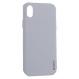 Чехол-накладка силикон Deppa Gel Color Case TPU D-85366 для iPhone XR 0.8 mm Белый