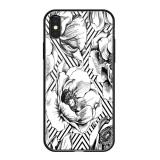 Чехол-накладка закаленное стекло Deppa Glass Case D-86504 для iPhone X (5.8) 2.0 мм Белый