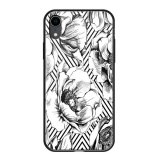 Чехол-накладка закаленное стекло Deppa Glass Case D-86508 для iPhone XR (6.1) 2.0мм Белый