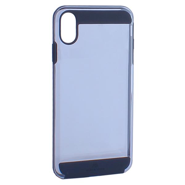 Чехол-накладка Black Rock Air Robust пластик прозрачный для iPhone XS Max (6.5) силиконовый борт (800068) 1080ARR02 Черный