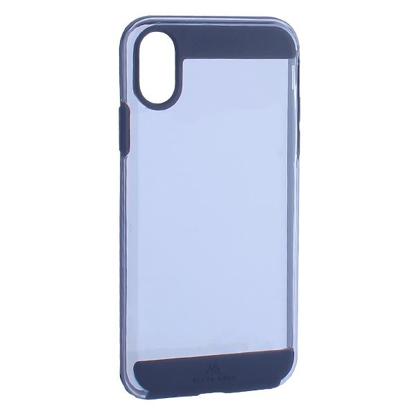 Чехол-накладка Black Rock Air Robust пластик прозрачный для iPhone X (5.8) силиконовый борт (800064) 1060ARR02 Черный