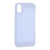Чехол-накладка Black Rock Air Robust пластик прозрачный для iPhone X (5.8) силиконовый борт (800063) 1060ARR01 Белый