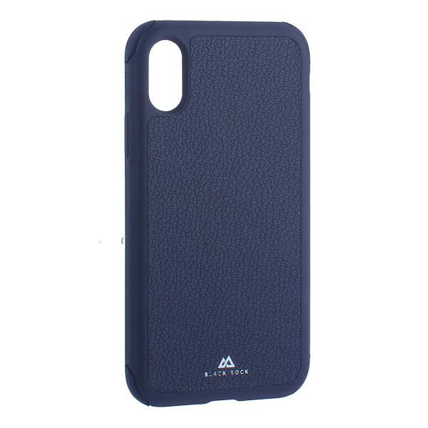 Чехол-накладка Black Rock Robust Case Real Leather для iPhone X (5.8) противоударный (800075) 1060RRL02 Черный