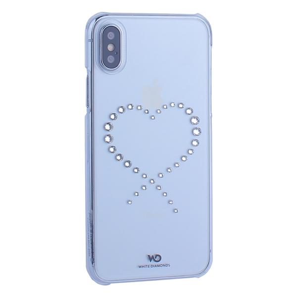 Чехол-накладка White Diamonds Eternity пластик для iPhone X (5.8) с кристаллами Swarovski (805047) 1370ETY5 Прозрачный