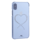 Чехол-накладка White Diamonds Eternity пластик для iPhone XS (5.8) с кристаллами Swarovski 1360ETY5 Прозрачый