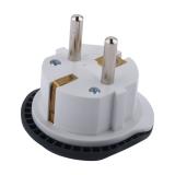 Адаптер сетевой MerKan в евророзетку 16А/ 250V, для всех стандартов вилок, с заземлением