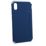 Чехол-накладка Element Case (AL&Pl) для Apple iPhone XS Max (6.5) Solace Синий (серебристый ободок)