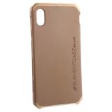 Чехол-накладка Element Case (AL&Pl) для Apple iPhone XS Max (6.5) Solace Золотистый (золотистый ободок)