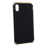 Чехол-накладка Element Case (AL&Pl) для Apple iPhone XS Max (6.5) Solace Черный (золотистый ободок)
