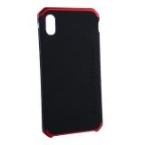 Чехол-накладка Element Case (AL&Pl) для Apple iPhone XS Max (6.5) Solace Черный (красный ободок)