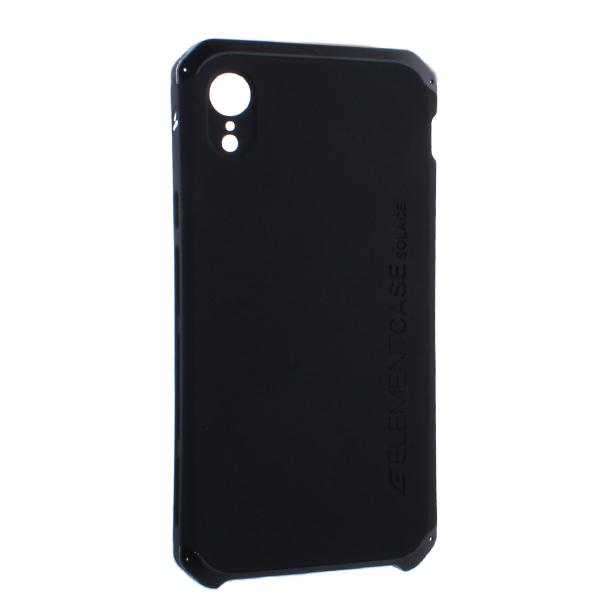 Чехол-накладка Element Case (AL&Pl) для Apple iPhone XR (6.1) Solace Черный (черный ободок)