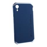 Чехол-накладка Element Case (AL&Pl) для Apple iPhone XR (6.1) Solace Синий (серебристый ободок)