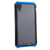 Чехол-накладка Element Case (AL&Glass) для Apple iPhone XR (6.1) G-Solace сине-черный ободок