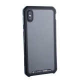Чехол-накладка Element Case (AL&Glass) для Apple iPhone XS Max (6.5) G-Solace черный ободок