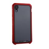 Чехол-накладка Element Case (AL&Glass) для Apple iPhone XR (6.1) G-Solace красный ободок