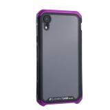 Чехол-накладка Element Case (AL&Glass) для Apple iPhone XR (6.1) G-Solace фиолетово-черный ободок