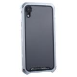 Чехол-накладка Element Case (AL&Glass) для Apple iPhone XR (6.1) G-Solace серебристый ободок