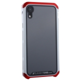 Чехол-накладка Element Case (AL&Glass) для Apple iPhone XR (6.1) G-Solace красно-белый ободок
