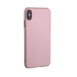 Чехол-накладка пластик Soft touch Deppa Air Case D-83366 для iPhone XS Max (6.5) 1мм Розовое золото