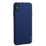 Чехол-накладка пластик Soft touch Deppa Air Case D-83367 для iPhone XS Max (6.5) 1.0 мм Синий