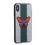 Накладка силиконовая TOTU Butterfly Love Series -019 для iPhone XS Max (6.5) Бабочка Green