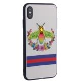 Накладка силиконовая TOTU Crazy Bee Series -021 для iPhone XS Max (6.5) Пчела Red