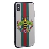 Накладка силиконовая TOTU Crazy Bee Series -021 для iPhone XS Max (6.5) Пчела Green