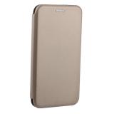 Чехол-книжка кожаный Fashion Case Slim-Fit для iPhone XR (6.1) Gold Золотой