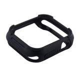 Чехол силиконовый COTEetCI PU+TPU case для Apple Watch Series 4 (CS7051-BK) 40 мм Черный (черный ободок)