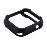 Чехол силиконовый бампер COTEetCI PU+TPU case для Apple Watch Series 5/ 4 (CS7051-BK) 40мм Черный (черный ободок)