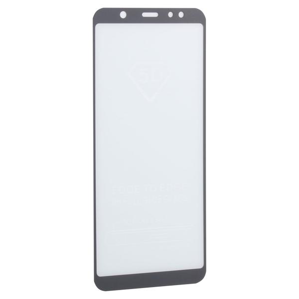 Стекло защитное 2D для Samsung GALAXY A6 Plus SM-A605F (2018 г.) Black