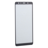 Стекло защитное 2D для Samsung GALAXY A7 SM-A750F (2018 г.) Black