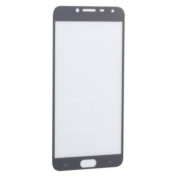 Стекло защитное 2D для Samsung GALAXY J4 SM-J400F (2018 г.) Black