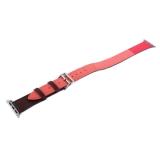 Ремешок кожаный COTEetCI W36 Fashoin Leather (WH5261-40-BRR) для Apple Watch 40 мм (Long) Коричневый-Розовый