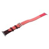 Ремешок кожаный COTEetCI W36 Fashoin Leather (WH5261-44-BRR) для Apple Watch 44 мм (Long) Коричневый-Розовый