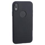 Чехол силиконовый Hoco Delicate Shadow Series для iPhone XR (6.1) Черный