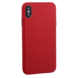 Чехол-накладка кожанная TOTU Imitation all covered PU Leather Case для iPhone XS Max (6.5) AAiXSMAX-016 Красный