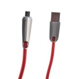 USB дата-кабель Hoco U35 Space shuttle smart power off MicroUSB (1.2 м) Red