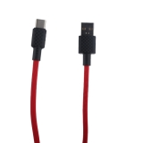 USB дата-кабель Hoco X29 Superior style charging data cable Type-C (1.0 м) Red Красный